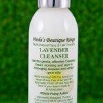 lavendar cleanser